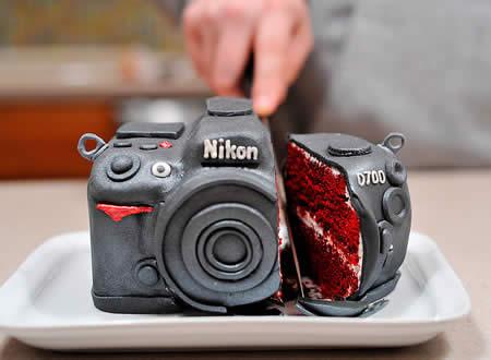 DSLR 카메라 케이크