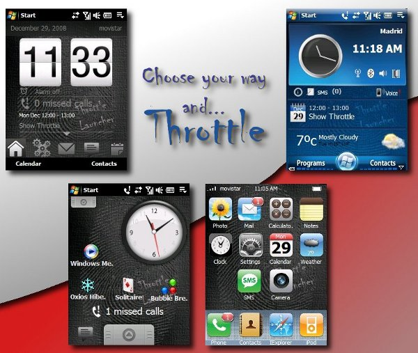 ThrottleLauncher 0.9.6 (With 4 Themes!!)