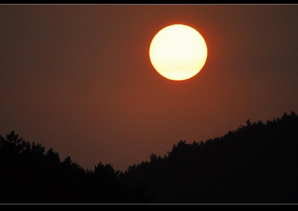 저녁노을_산달섬_태양