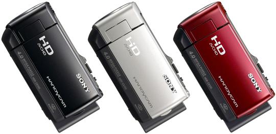성능은 기본, 디자인과 휴대성 다 갖춘 풀HD 핸디캠 HDR-CX100