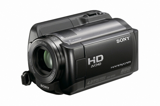 장시간 고화질 동영상 촬영에 적합한 HDR-XR100