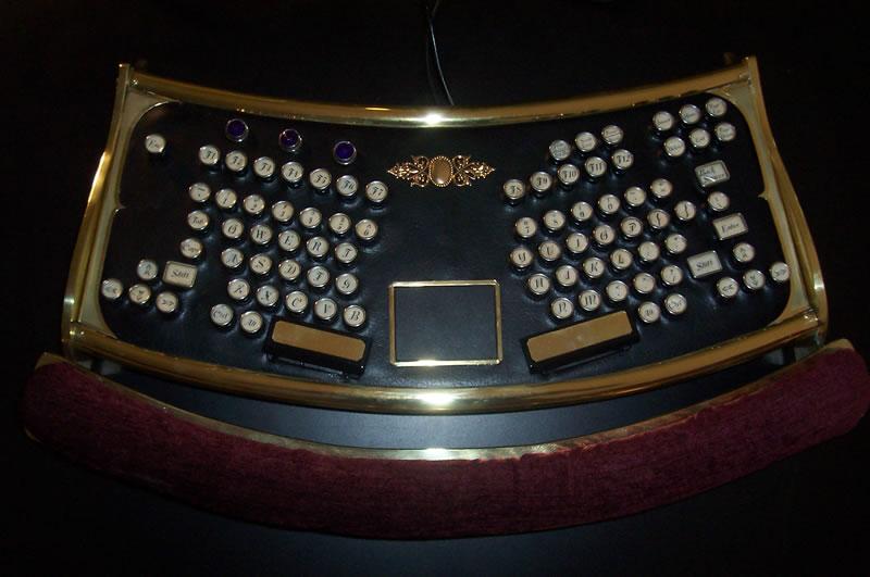 Datamancer Ergo keyboard