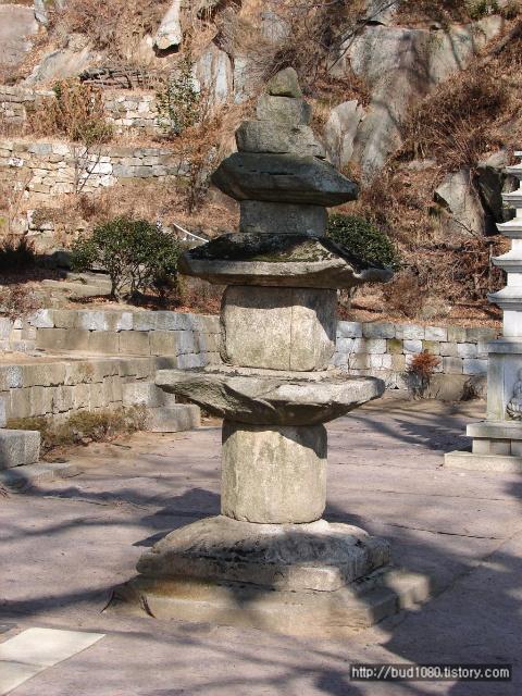 사자암 석탑
