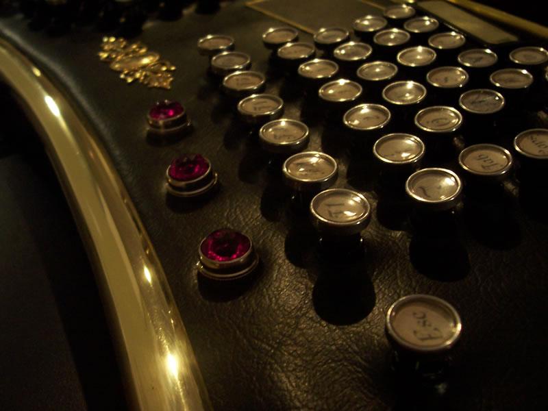 Datamancer Ergo keyboard 버튼