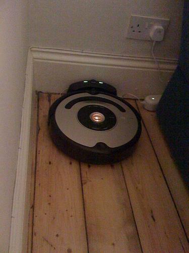 Roomba feeding itself