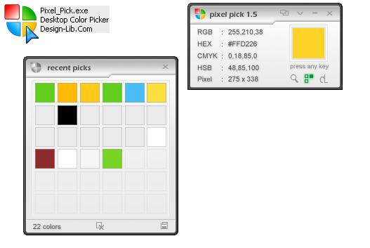 초간단, 저용량, 고성능 색상 추출기 Pixel Pick v1.5