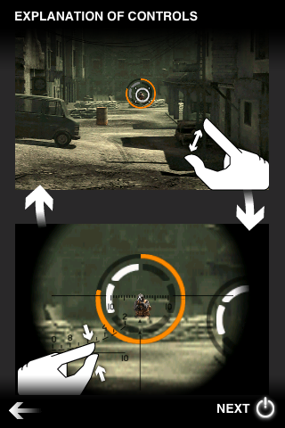 UI Design of <Metal Gear Solid>: Zooming & Sniping