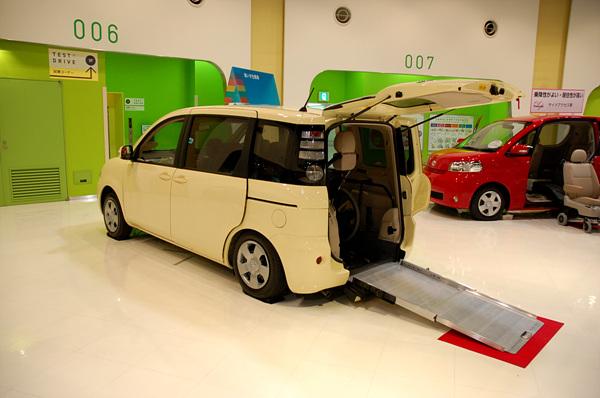 도요타의 차세대기술을 볼 수 있는 유니버셜 디자인 쇼케이스