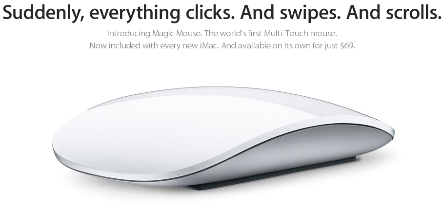 Apple Magic Mouse - Splash
