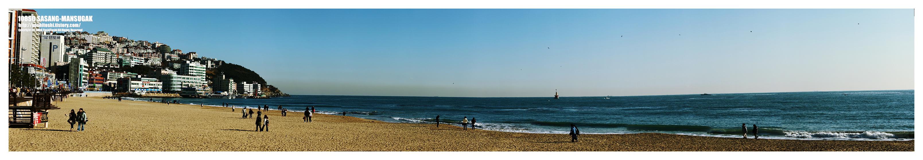 해운대풍경, 파노라마사진1