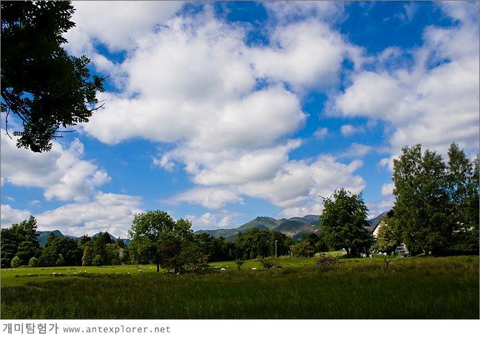 케스윅(Keswick) 주변의 풍경