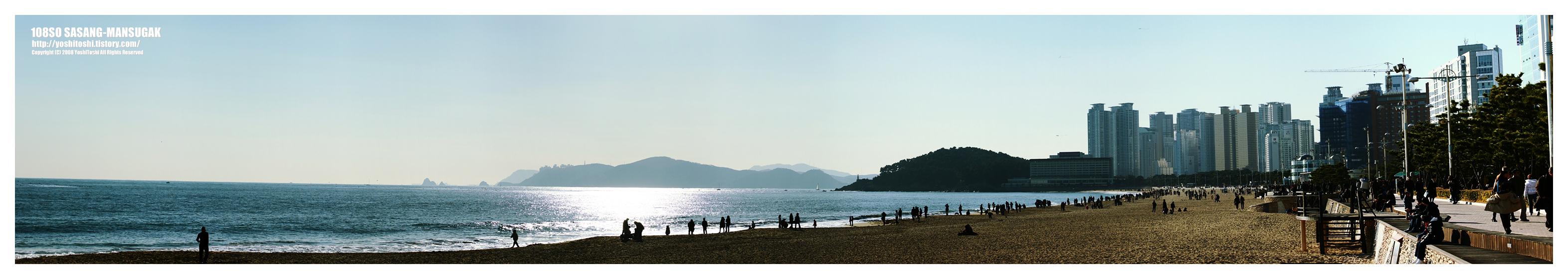 해운대풍경, 파노라마사진2