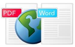 WORD를 PDF로, PDF를 WORD로 변환하기