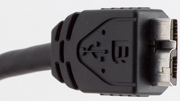 USB 3.0 Mini-B connector