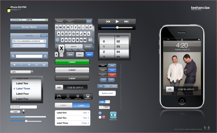 Apple iPhone GUI