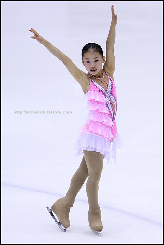 2008 전국남녀 회장배 피겨 스케이팅 랭킹대회 싱글 임예영 선수의 FS