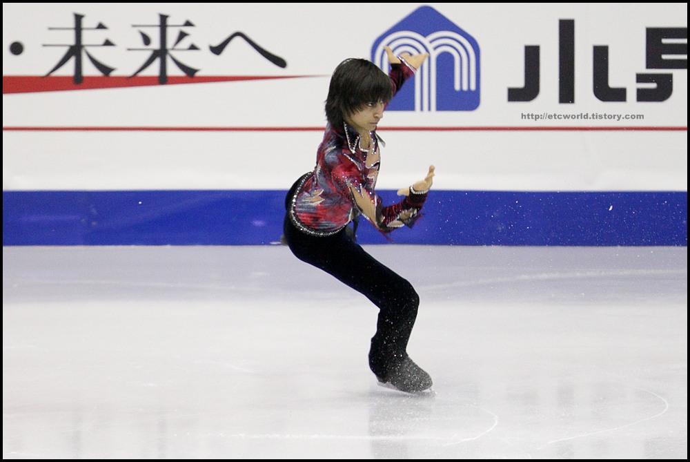 SBS ISU Grand Prix of Figure Skating Final Goyang Korea 2008/2009 2008/2009 SBS ISU 고양 피겨스케이팅 그랑프리 파이널 대회 Junior Men - Short Program Ivan BARIEV
