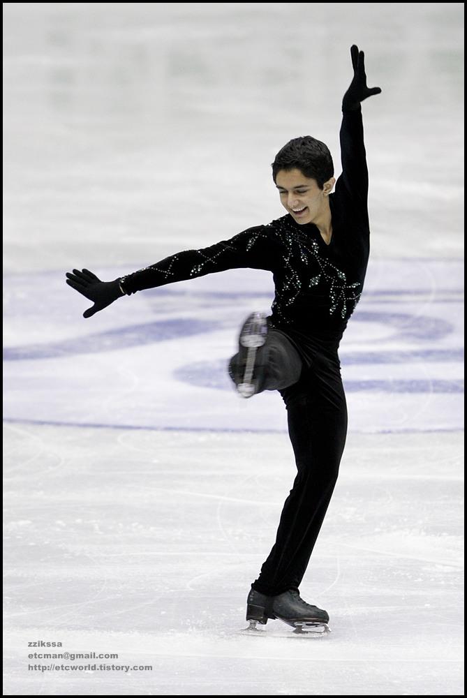 Armin MAHBANOOZADEH at 'SBS ISU Grand Prix of Figure Skating Final Goyang Korea 2008/2009' Junior Men - Short Program