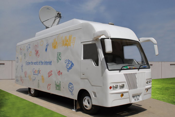 구글 인터넷 버스