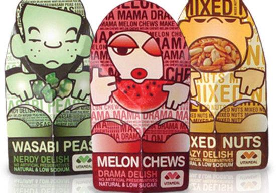어린이용 건강식품 패키지&자판기